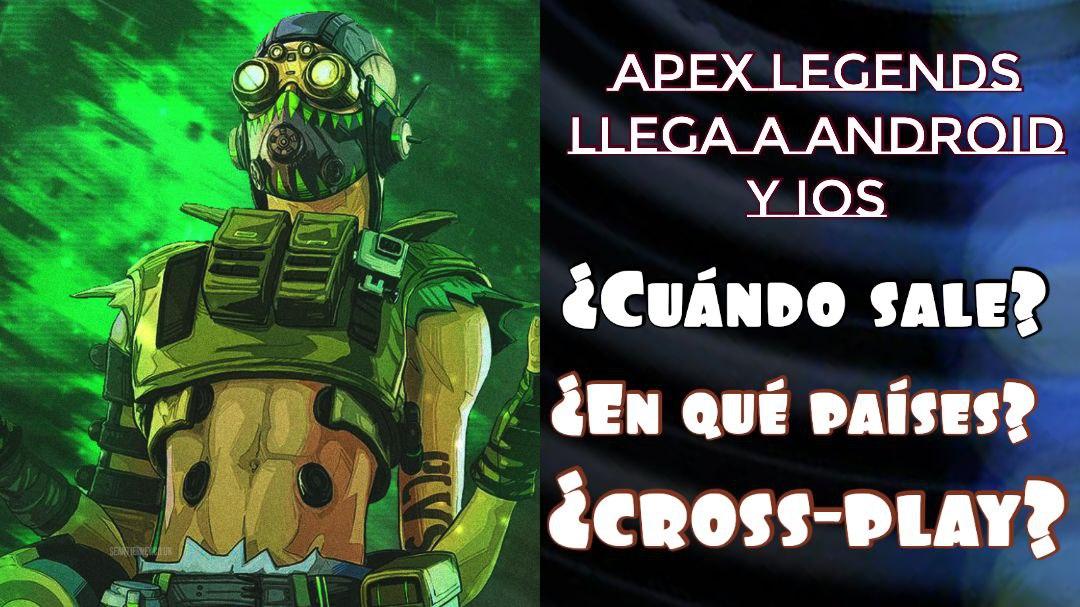 Apex legends mobile ya salió (2021)