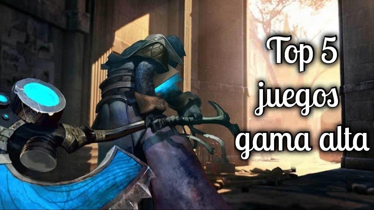 Top 5 mejores juegos para gama alta en Android y iOS (2021)